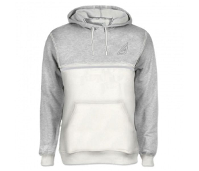Soft Grey and White Designer Hoodie in UK and Australia