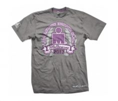 Soft Grey Graphic Print Tee in UK and Australia