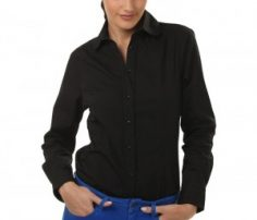 Solid Black Shirt in UK and Australia