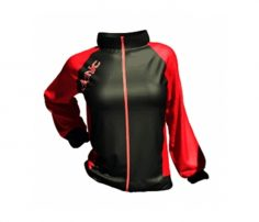 Sporty Black & Red Ladies' Tracksuit in UK and Australia