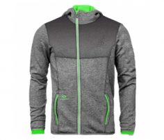 Steel Grey and Neon Designer Hoodie UK and Australia