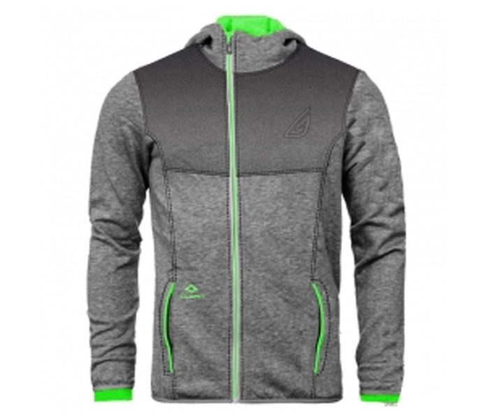 Steel Grey and Neon Designer Hoodie UK and Australia