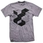 Steel Grey Print Tee in UK and Australia