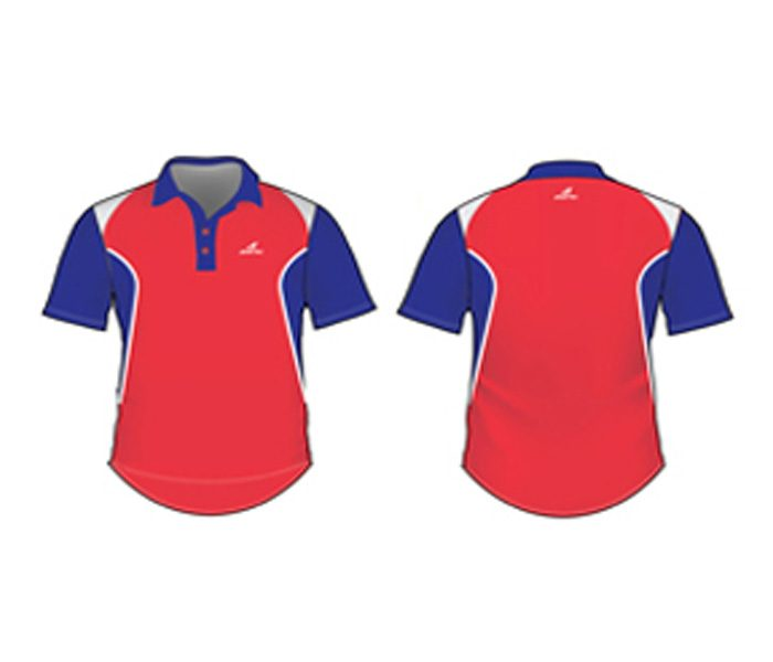 Striking Red And Blue Cricket Jersey in UK and Australia