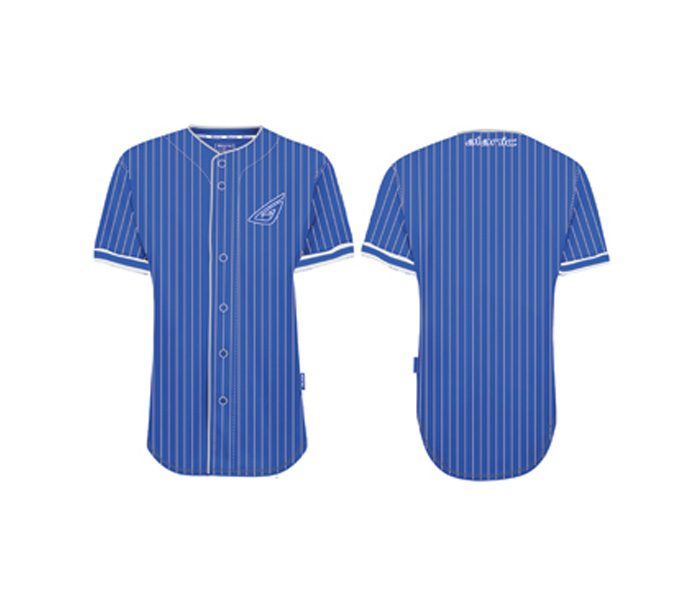Striped Blue Baseball Shirt in UK and Australia