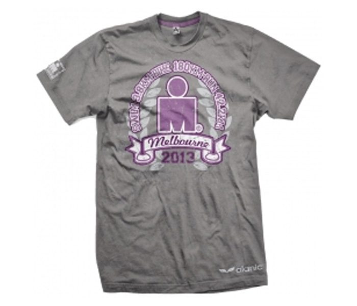Stylish Steel Grey Marathon Tee in UK and Australia