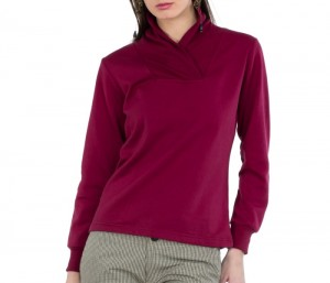 Trendy Bold Cherry Red Sweater in UK and Australia