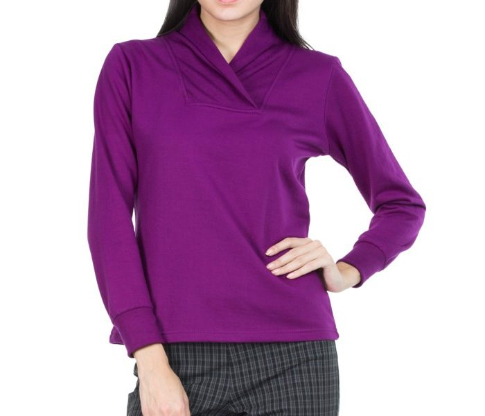 Trendy Bold Purple Sweater in UK and Australia