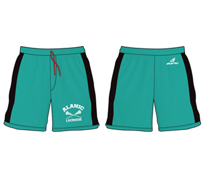 Turquoise Blue and Black Shorts in UK and Australia
