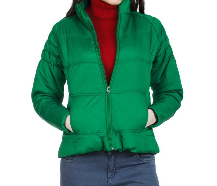 Vibrant Green Winter Jacket in UK and Australia