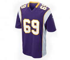 Violet American Football Jersey in UK and Australia