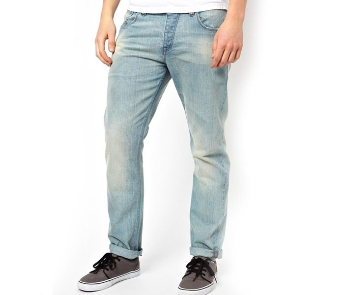 Washed Blue Denim Bottom in UK and Australia