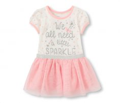 We all need to sparkle' short sleeve dress in UK and Australia
