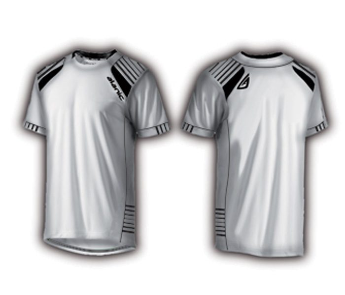 White and Black Soccer Tee in UK and Australia