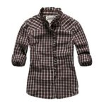 White and Brown Check Shirt in UK and Australia
