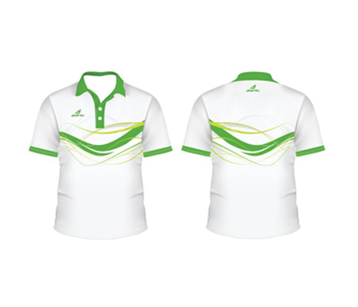 White and Green Tennis Tee in UK and Australia