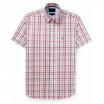 White and Red Check Shirt in UK and Australia