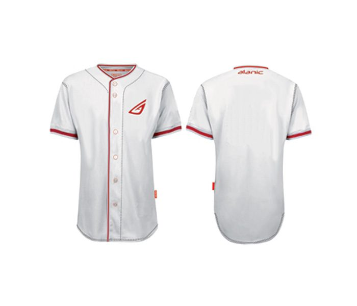 White Baseball Shirt in UK and Australia