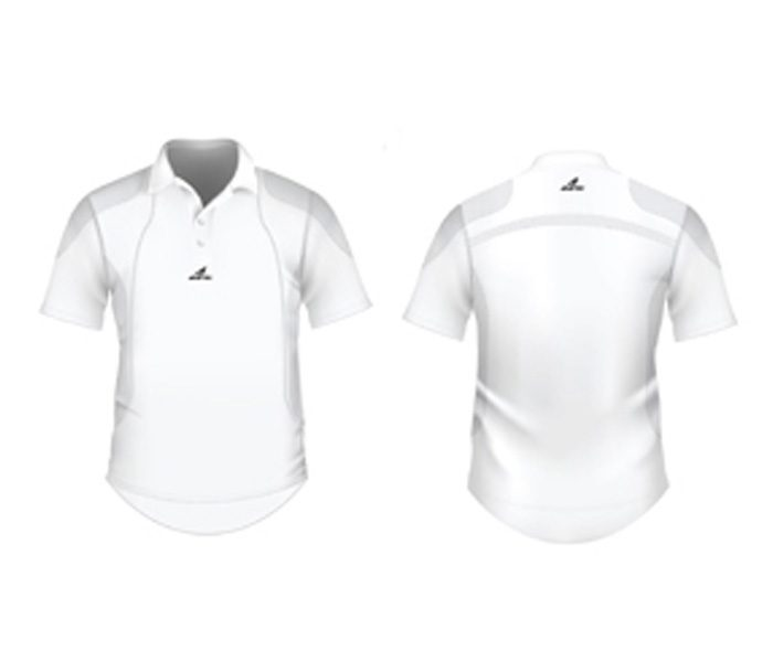 White Cricket Jersey in UK and Australia