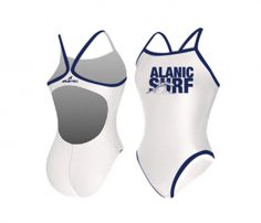 White Defined Swimsuit in UK and Australia
