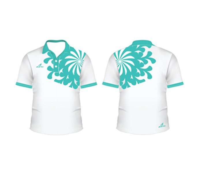 White Floral Tennis Tee in UK and Australia