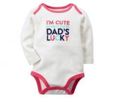 White Super Cool Infant Bodysuit in UK and Australia