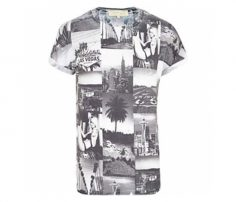 White With Holiday Spot Print Tee in UK and Australia