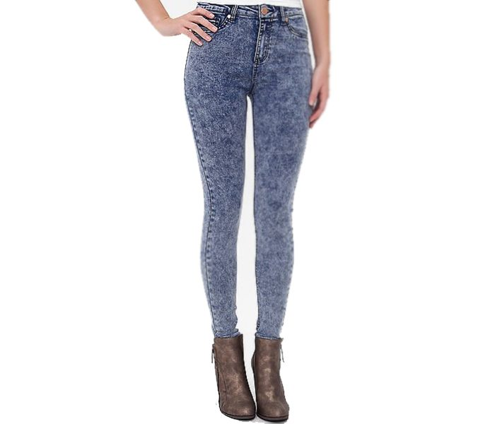 Women's High Rise Skinny Fit Denims in UK and Australia