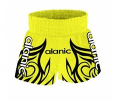 Yellow & Black Detailed Boxing Shorts in UK and Australia