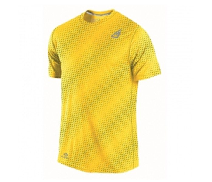 Yellow Dotted Fitness Tee in UK and Australia