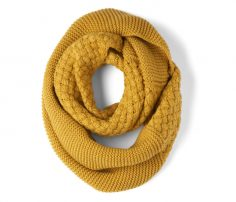 Yellow Orchard Winter Scarf in UK and Australia