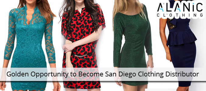 Golden Opportunity to Become San Diego Clothing Distributor