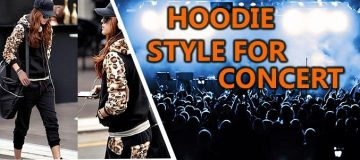 How to Dress Up In Hoodies for the Music Concerts