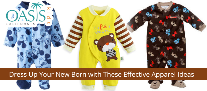 Dress Up Your New Born with These Effective Apparel Ideas