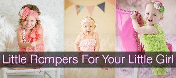 The Cute Rompers For Juniors Can Add Flair To Your Little Girl's Personal