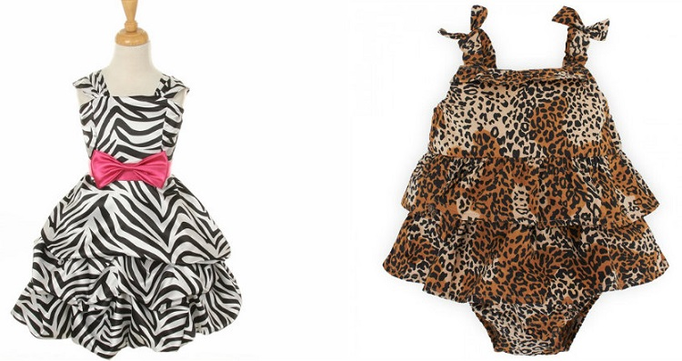 Trendy Zebra Print Dresses to Glam up Baby Girls