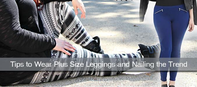 Plus size leggings USA