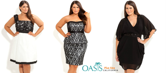 Sexy Glamour Wear for Plus Size Hotties