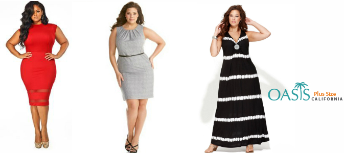 Plus size clothing supplier
