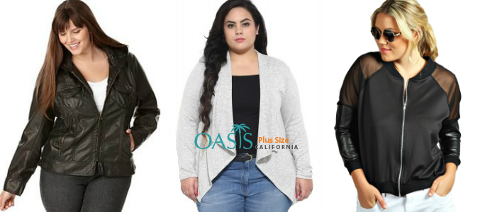 jackets for women plus size