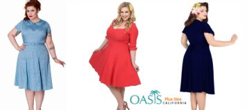 Pick up the Right Plus Size Swing Dresses for Various Occasions