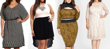 Dress up the Right way on a Day Outing with Stylish Plus Size Clothing !
