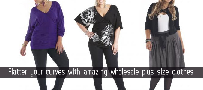 Flatter your Curves with amazing wholesale Plus Size Clothes