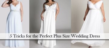 5 Tricks for the Perfect Plus Size Wedding Dress
