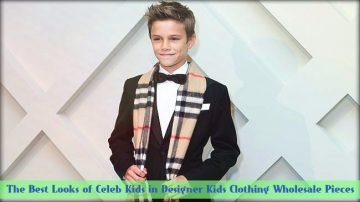 The Best Looks of Celeb Kids in Designer Kids Clothing Wholesale Pieces