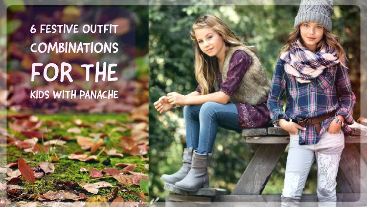6 Festive Outfit Combinations for The Kids with Panache