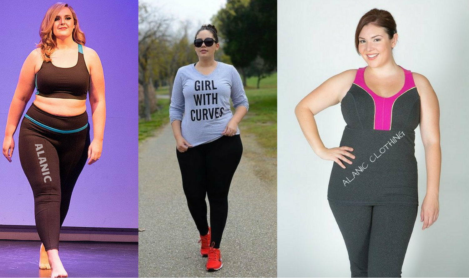 Plus Size Activewear Clothing for the Big Girls