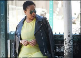 Leather Jackets Evolving the Image of Plus Size Women