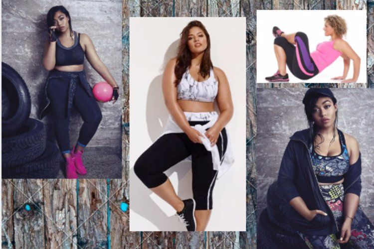 Latest Design Plus Size Active Wear to Make Your Workout More Interesting!
