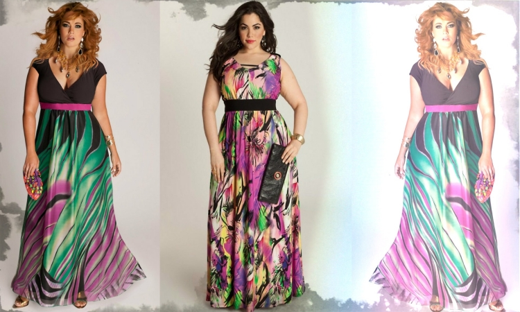 Amazing Collection of Stylish Plus Size Maxi Dresses with ...